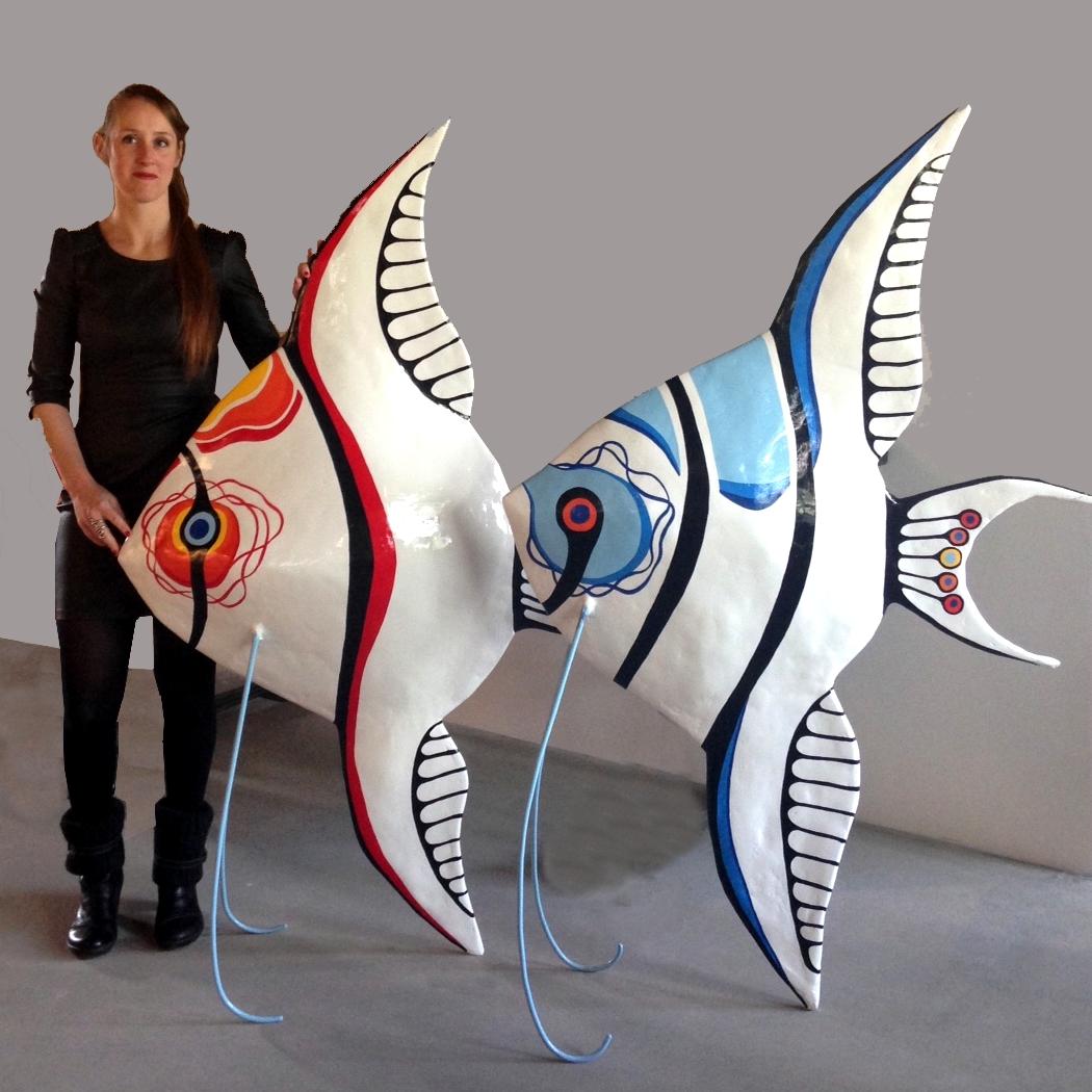 Polyester sculptures